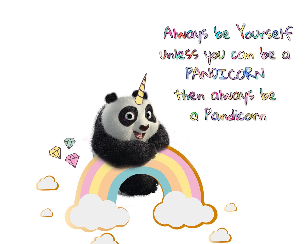 Cuteoverload Pandicorn Panda Unicorn Magic Madewithpi