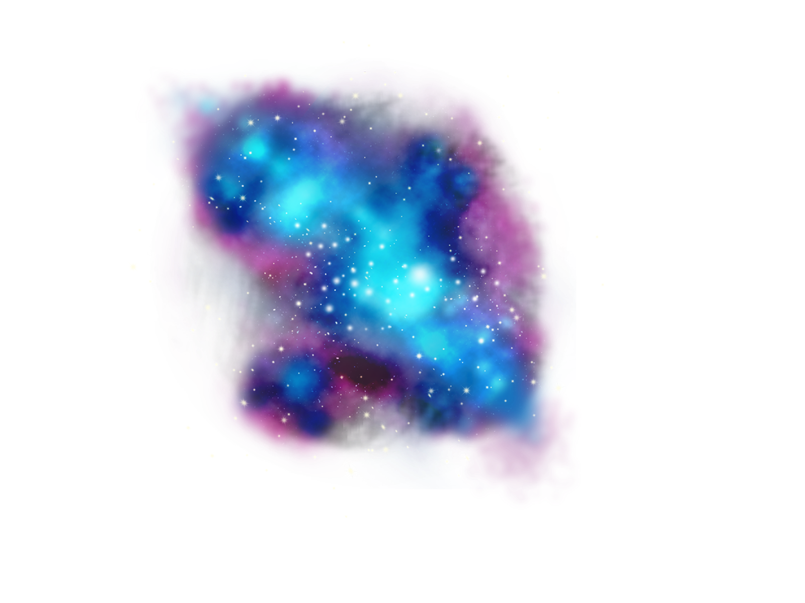 FreeToEdit clipart png stars galaxy with a transparent...