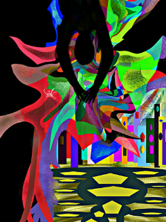 wdpneon drawing artistic colorful neon