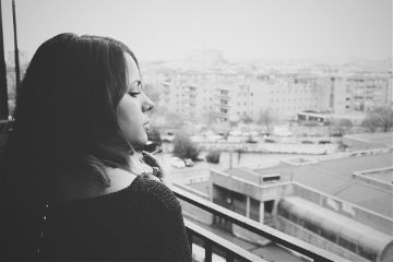 photography woman blackandwhite smoking