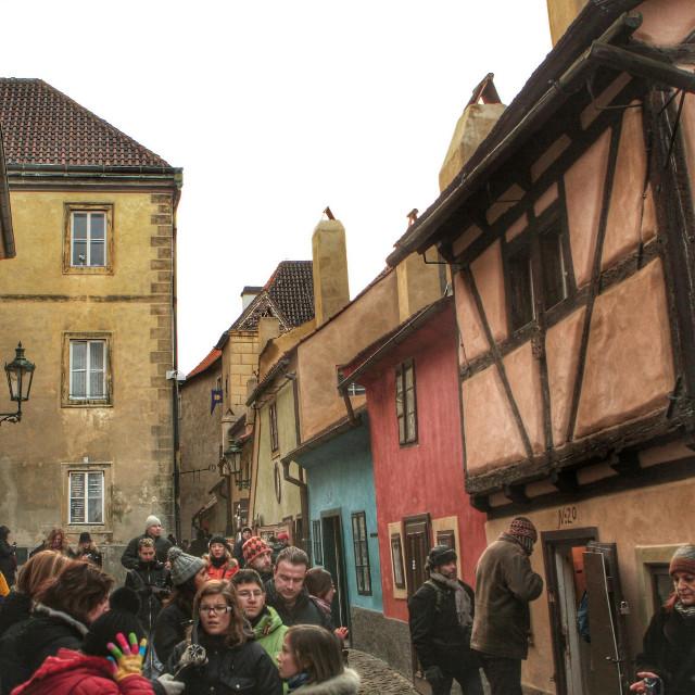 Zlatá ulička. Praha (Prague) #colorful  #people  #photography  #travel  #prague #czechrepublic #europe #street