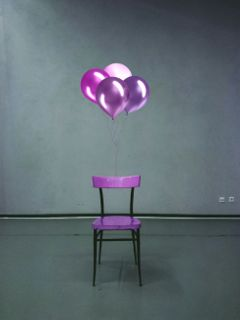 freetoedit chair balloons purple