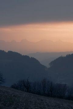 freetoedit nature landscape sunset mountains