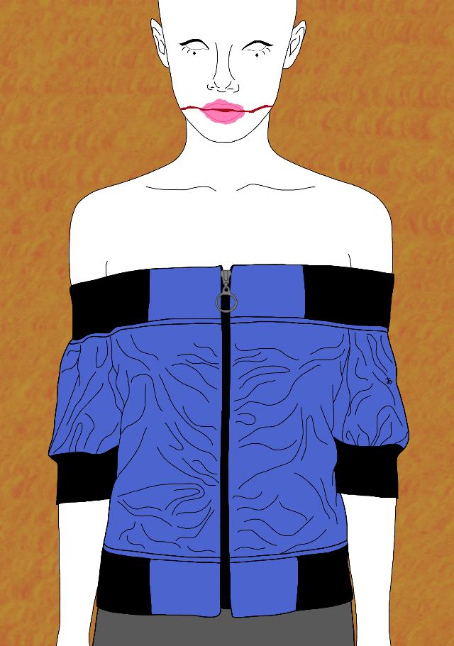 Let's Fall In Love. Band: Mother Mother Featured model: @uglyworldwide modelling for Dollskill.com#interesting #art #tumblr #tumblroutline  #tumblroutlines #drawing #digitaldrawing #digital #digitalart #aesthetic #FreeToEdit