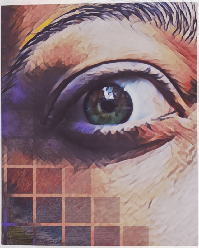 Happy New Year everyone!🍾 #eye #myeye #magiceffect #geometric #myart #edited #artisticselfie