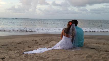 beachwedding beautiful saintlucia weddingday mydaughter