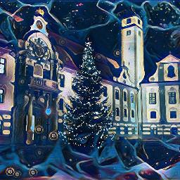 freetoedit winter evening effect
