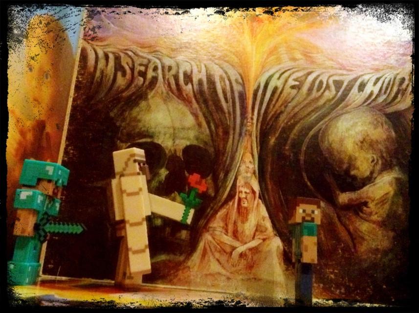 #FreeToEdit #mindcraft and #moodyblues #records #albumcover #toys