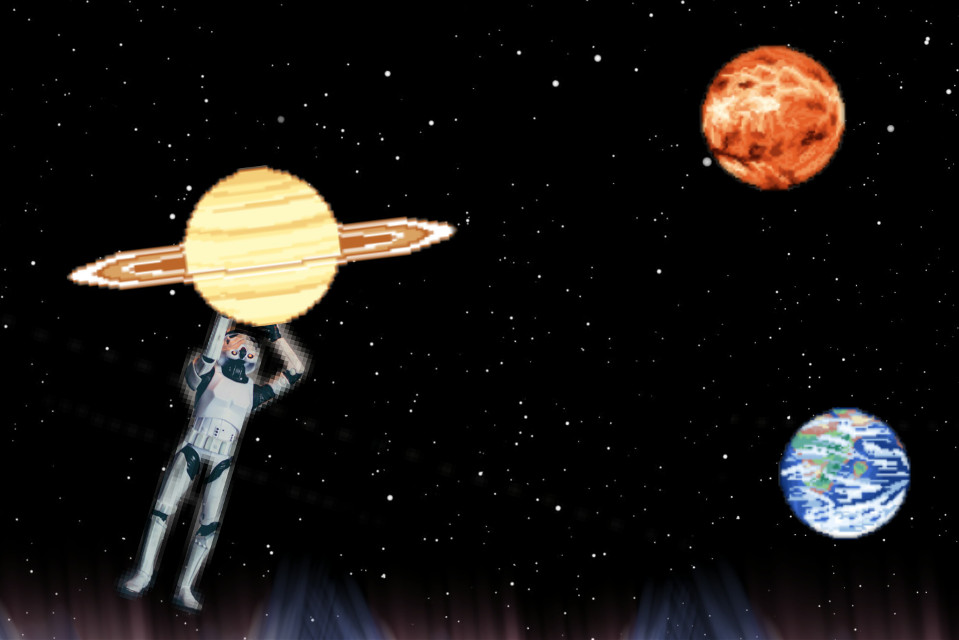 #FreeToEdit  #planets #space #myedit @pa Thanks for featuring my edit in Smash Hits