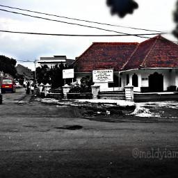 splitcolour blackandwhite place
