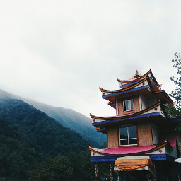 photography colorful mountain cloudy home freetoedit