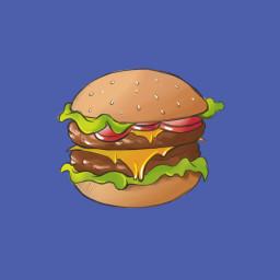 freetoedit stikers art interesting burger