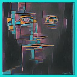 freetoedit portrait geometrical yassinezine hippyposh