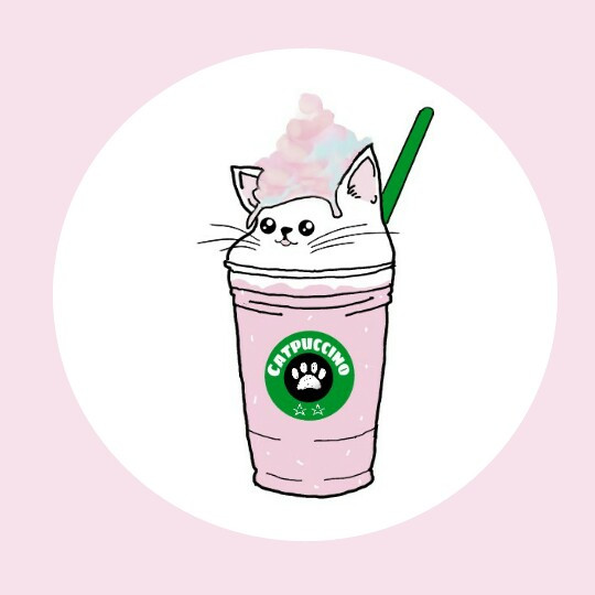 Catpuccino 😻 @pa thanks for featuring my image in your gallery and in Smash Hits   #FreeToEdit  #mydrawing  (except topping) #nutrishforpets  #nutrishpets  #pink