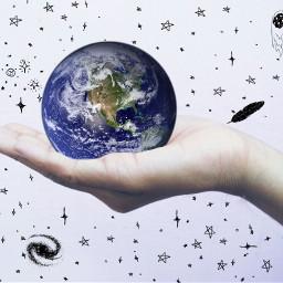 freetoedit interesting photography earth globe