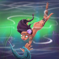 maori art illustration
