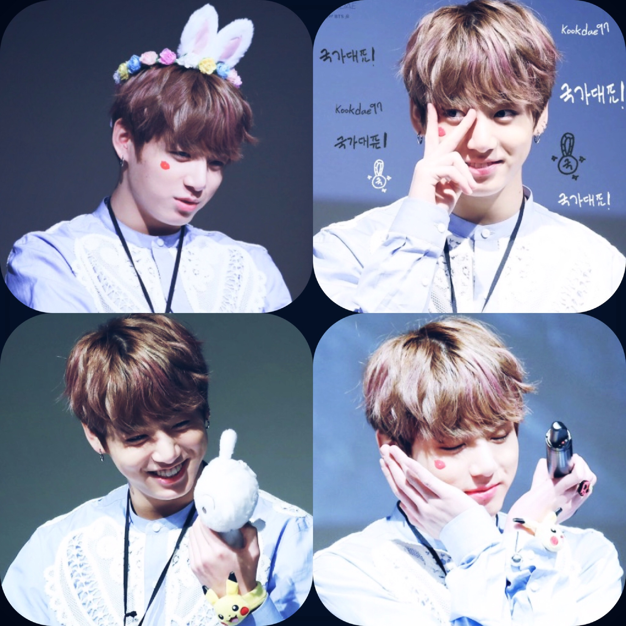 bts bangtanboys jungkookie kookie jungkook cute kawaii Cute Cupcake Drawings cute cupcake clipart with faces