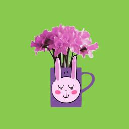freetoedit flowerremix dailyremixchallange love pink
