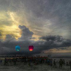madewithpicsart beach sunset indonesia freetoedit