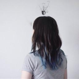 freetoedit dslr nikon art bluehair