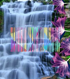 freetoedit barcode waterfall