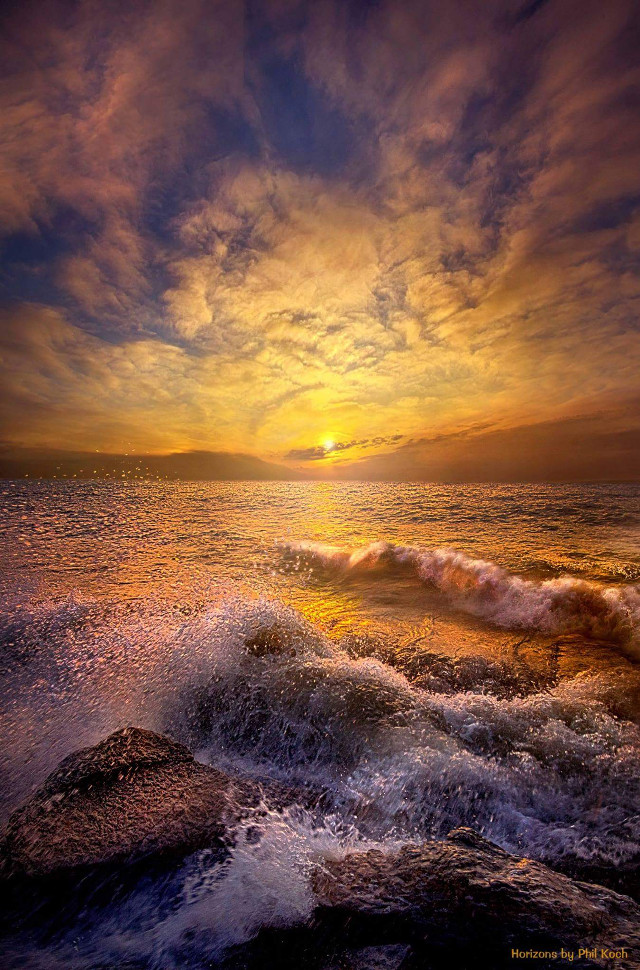 """"""" God's Natural Cure """" - Wisconsin Horizons by Phil Koch.  #FreeToEdit #Remixit #colorful #emotions #hdr #nature #travel #spring #photography #landscapephotography #sunrise #sunset #peace #love #shoreline #water"""