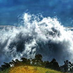 clouds photography mountain nature picsart freetoedit