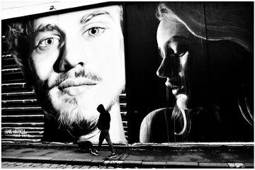 blackandwhite streetart