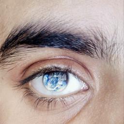 freetoedit eye#earth eye earth