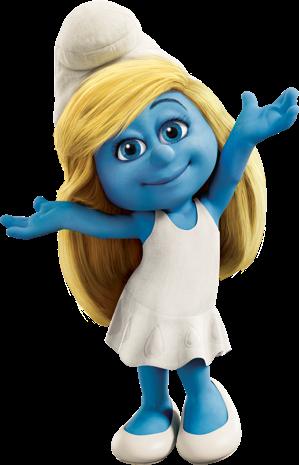 #the smurfs girl