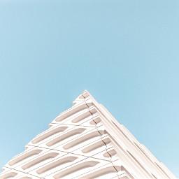 FreeToEdit urban building color blue minimal